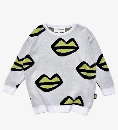 Knit Sweater XOXO LIPS Little Man