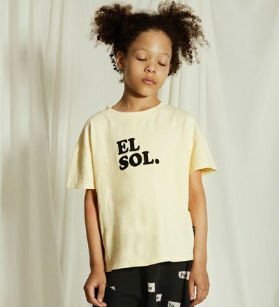 EL SOL Rounded T-Shirt Little Man
