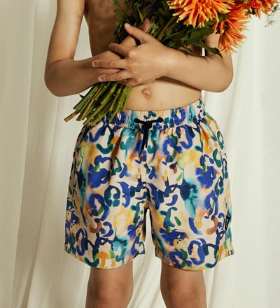 IN BLOOM Swim Shorts Little Man