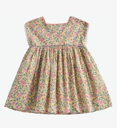 Dress TAPALPA Lemon Flowers Louise Misha