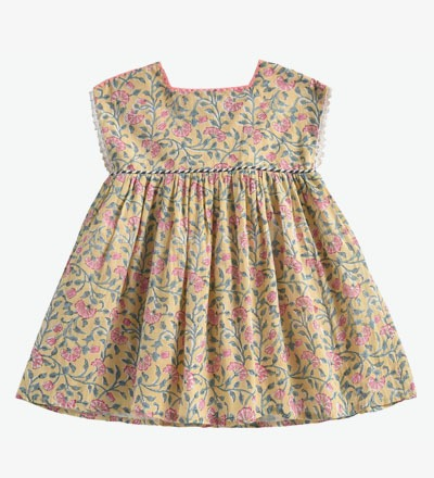 Dress TAPALPA Lemon Flowers Louise Misha