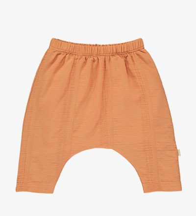 Woven Pants SALMON - Mini Sibling