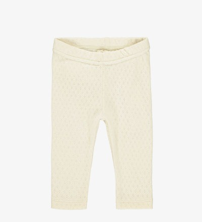 Patterned Slim Pants VANILLA Mini Sibling