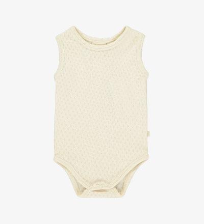 Patterned Vest Body VANILLA Mini Sibling