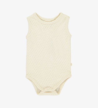 Patterned Vest Body VANILLA Mini Sibling