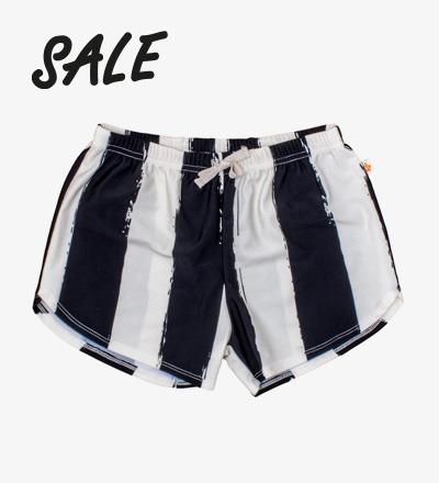 Swim shorts BLACK STRIPES XL - Noe Zoe