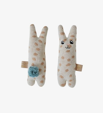 RABBIT Baby Rattle - OYOY