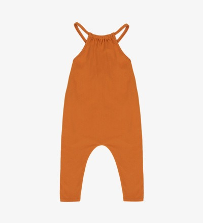 Gathered Jumpsuit TANGERINE - Phil &