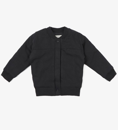 Textured Bomber CHARCOAL - Phil &