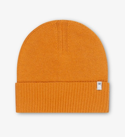 Knitted Hat WARM YELLOW Repose AMS