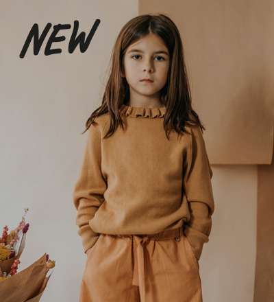 Knit Sweater SMOOTH CAMEL Repose AMS