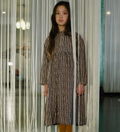 Midi Dress MOON PRINT Repose AMS