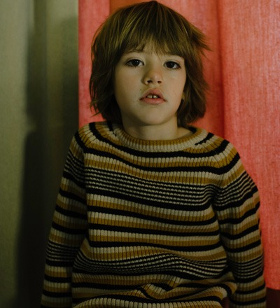 Knitted Sweater RETRO STRIPES - Repose AMS