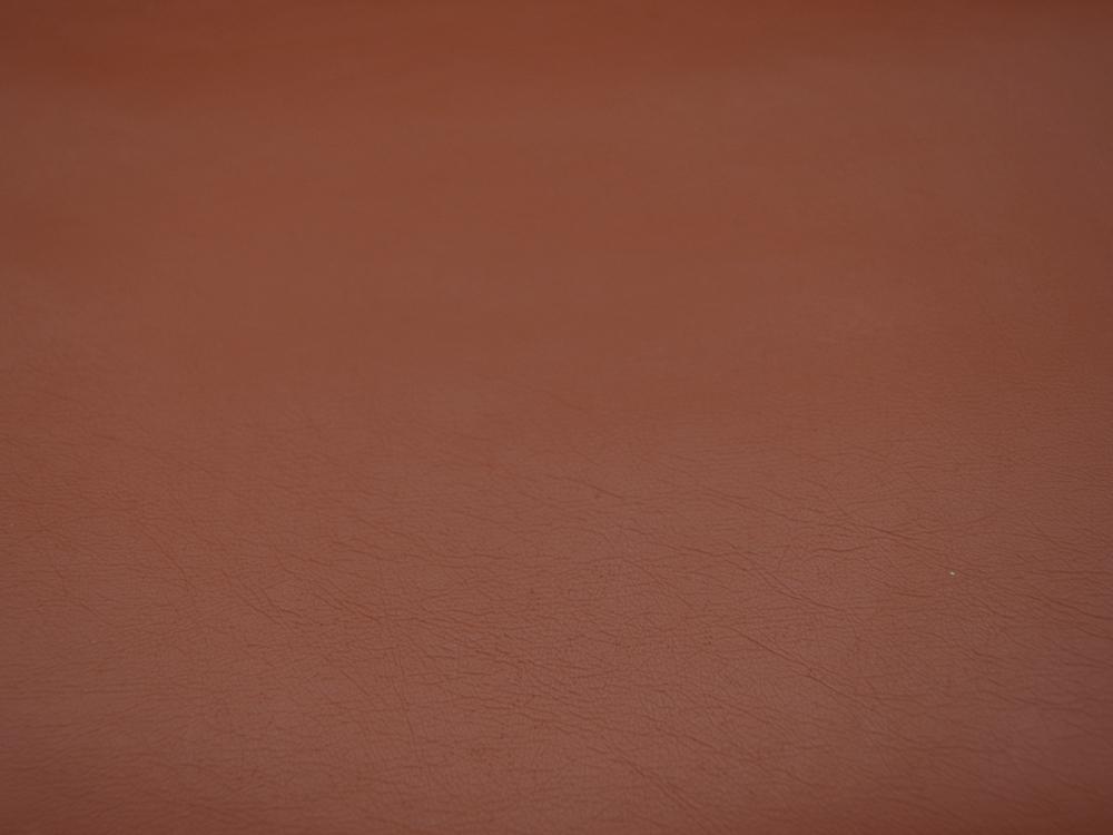 Weiches Kunstleder in Cognac- 05 Meter