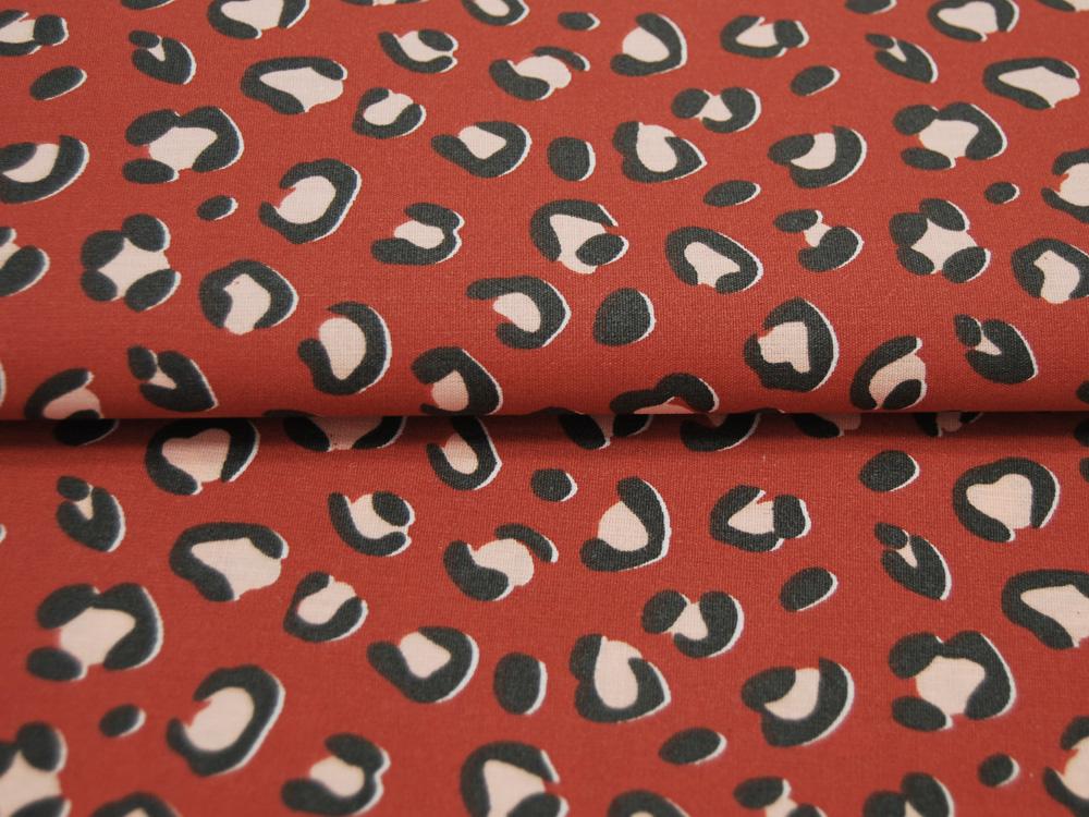 Beschichtete Baumwolle - Fächermuster Grau 50 x75 cm - 1