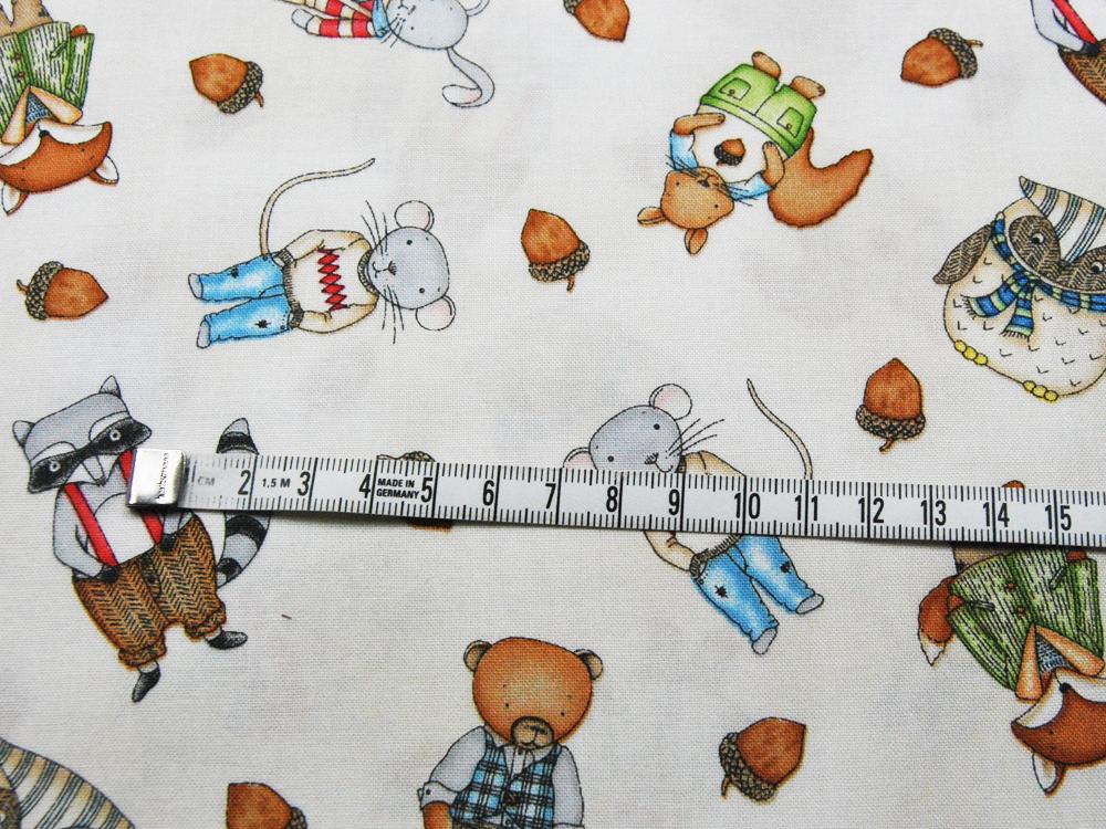 Baumwolle - Forest Friends by Kris Lammers 0,5m - 3