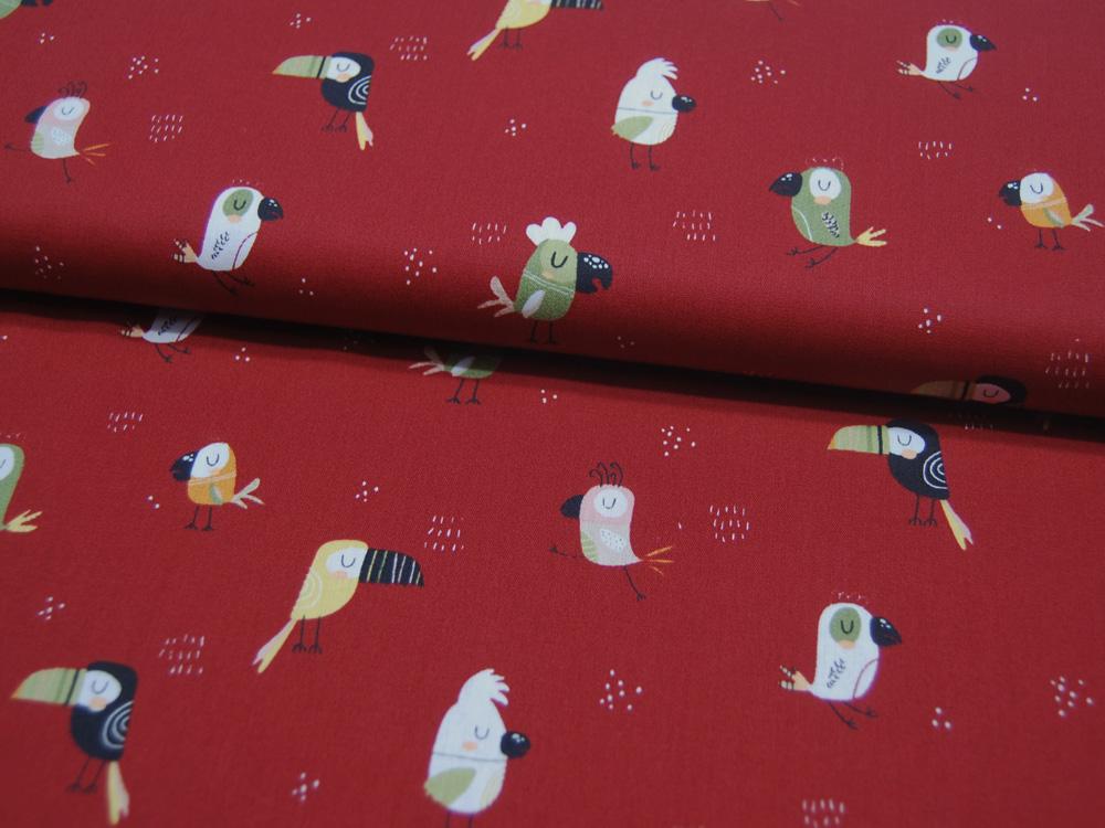Musselin/Double Gauze Weiße Dreiecke auf Hellgrün