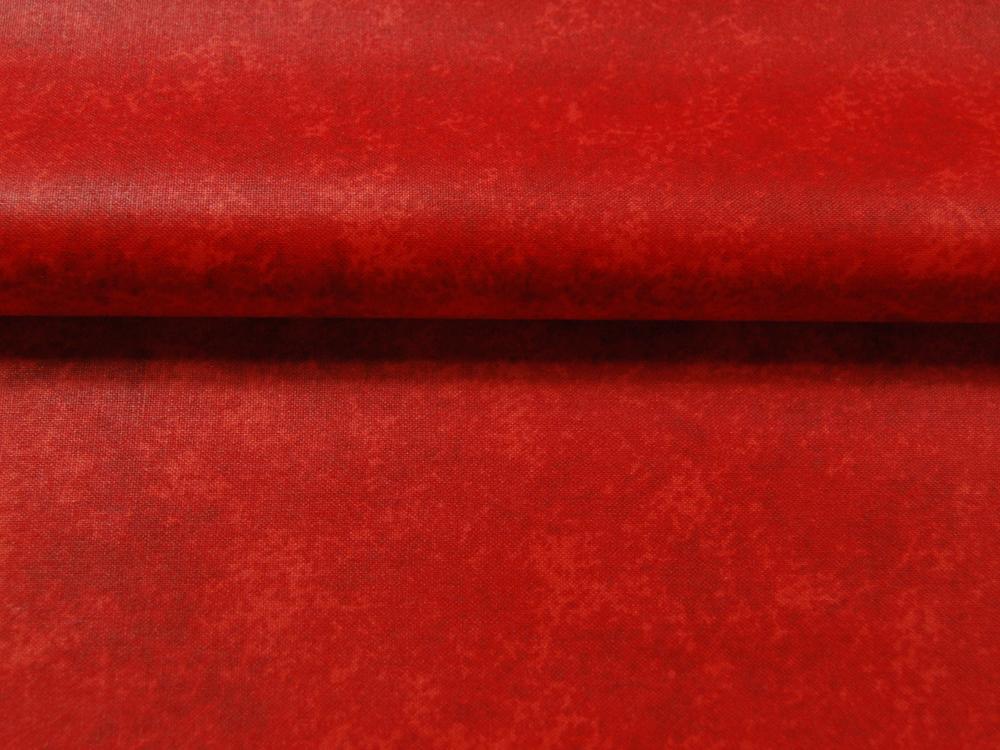 Beschichtete Baumwolle Rot Meliert 50x68 cm