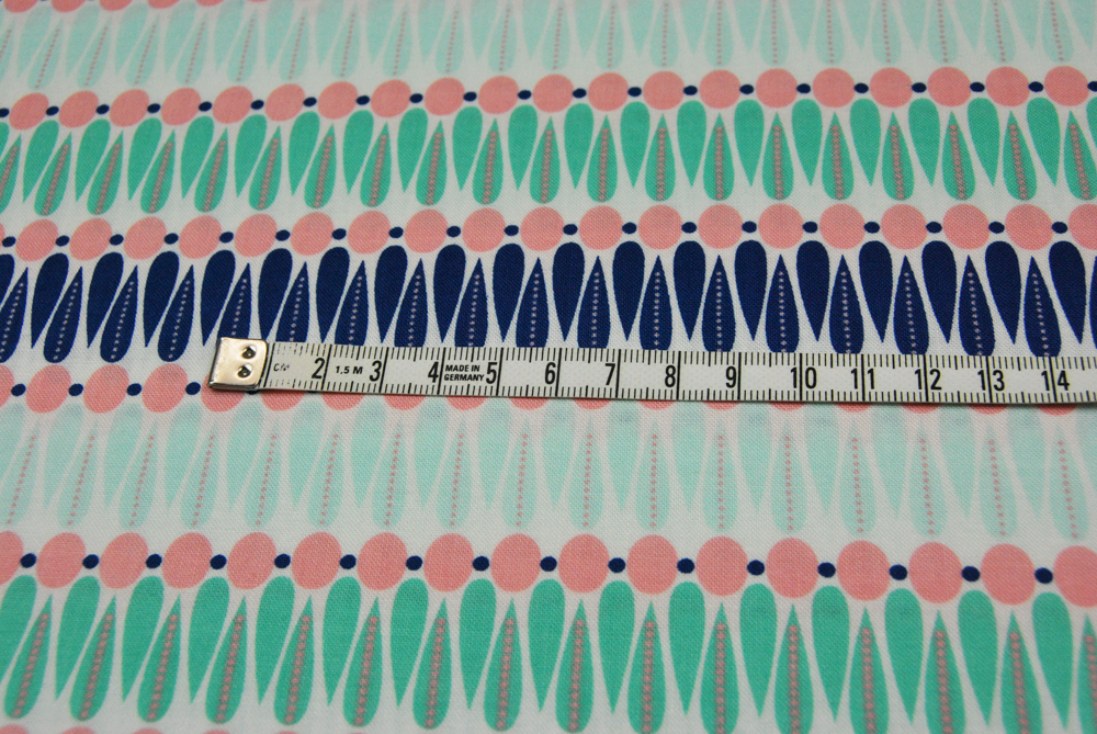 Camelot Baumwolle mit graphischen Muster 05m