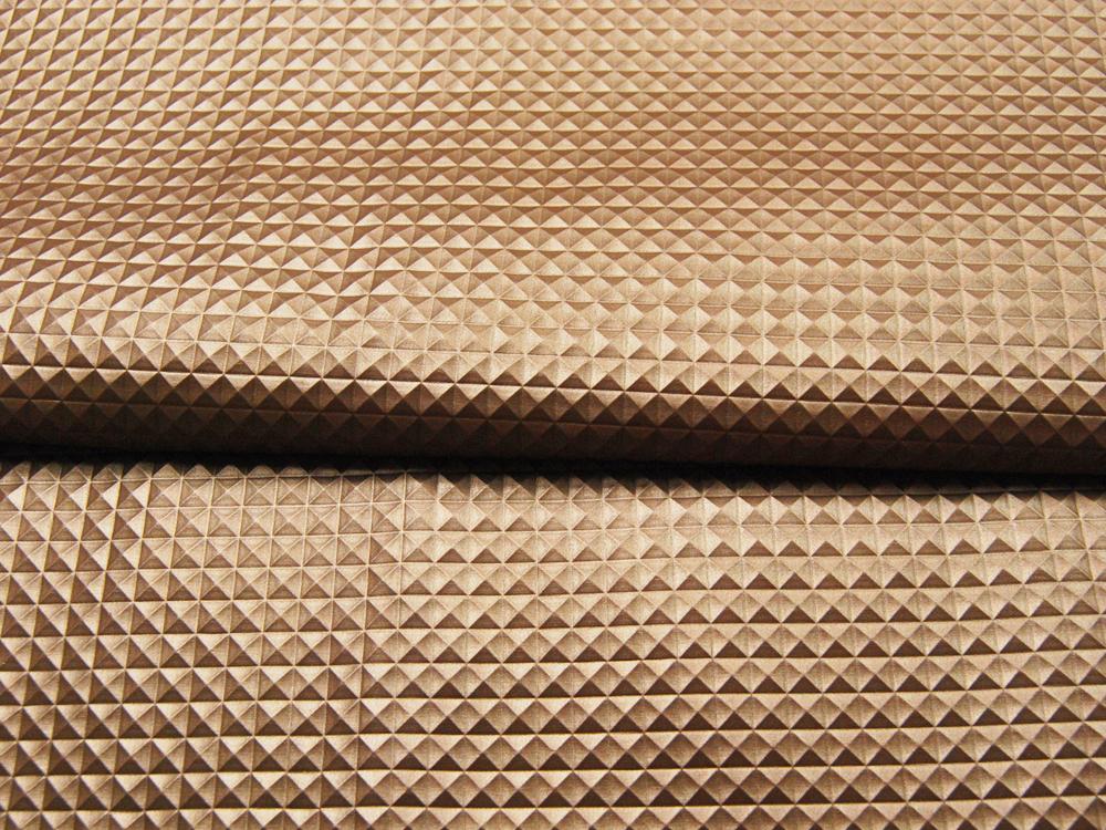 Kunstleder Nietenoptik - Gold - 50 x 138 cm - 3