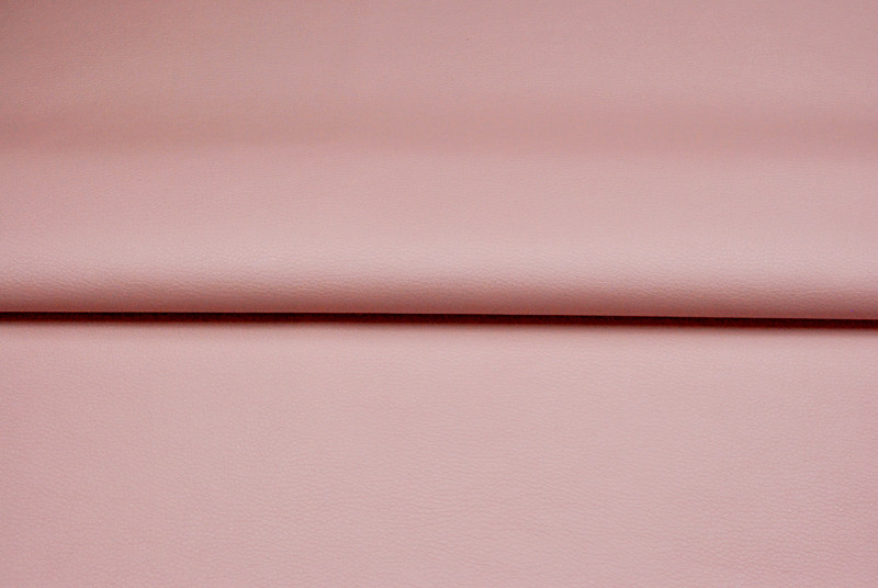 Kunstleder in Puder Rosa - 0 5 Meter