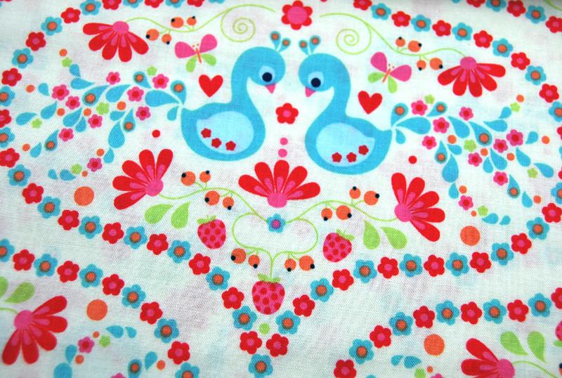 Flutterberry - Romantische Baumwolle 0,5 m - 2