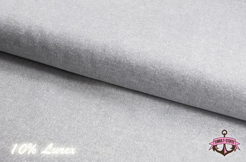Essex Yarn Dyed Metallic - Fog - Glitzerstoff 0.5m