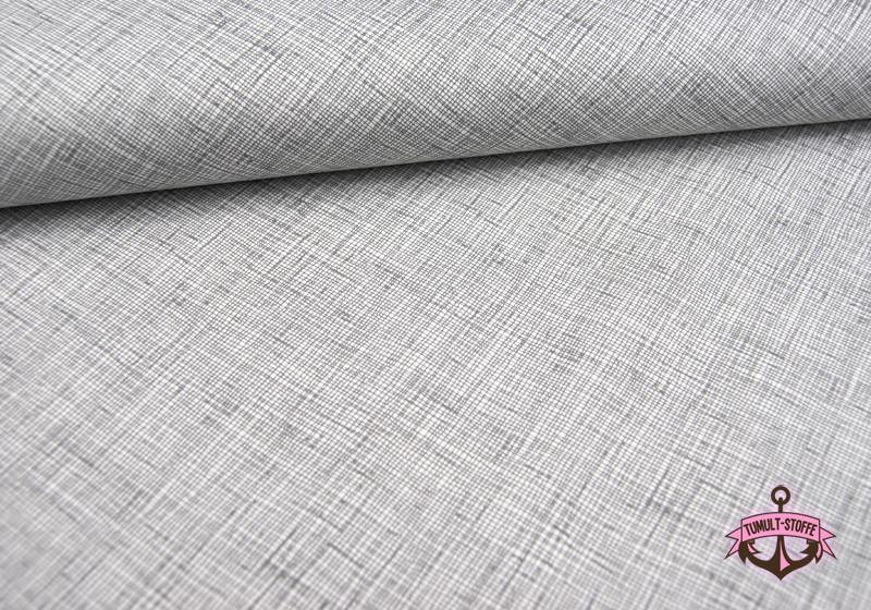 architextures - Graphisches Muster Baumwolle 05m - 1