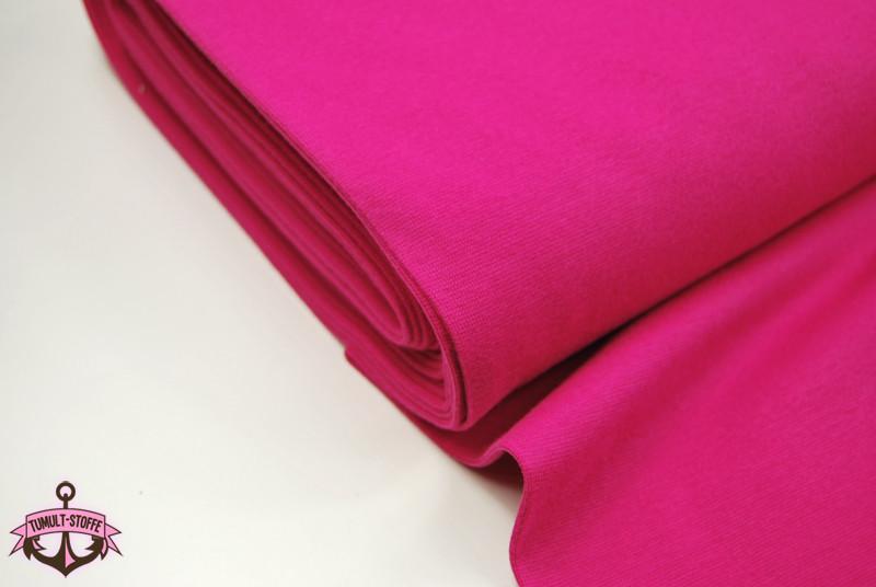Leichtes Bündchen - Pink - 50 cm im Schlauch - 1