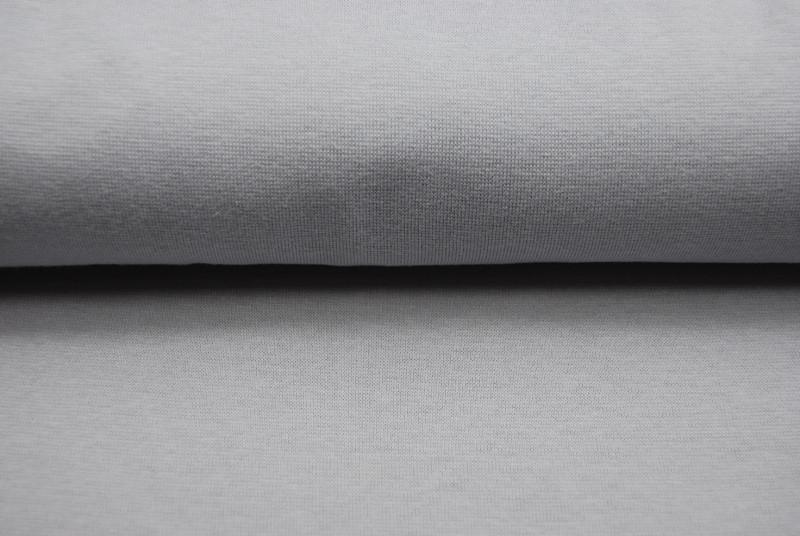 Leichtes Bündchen - Hellgrau - 25 cm im Schlauch
