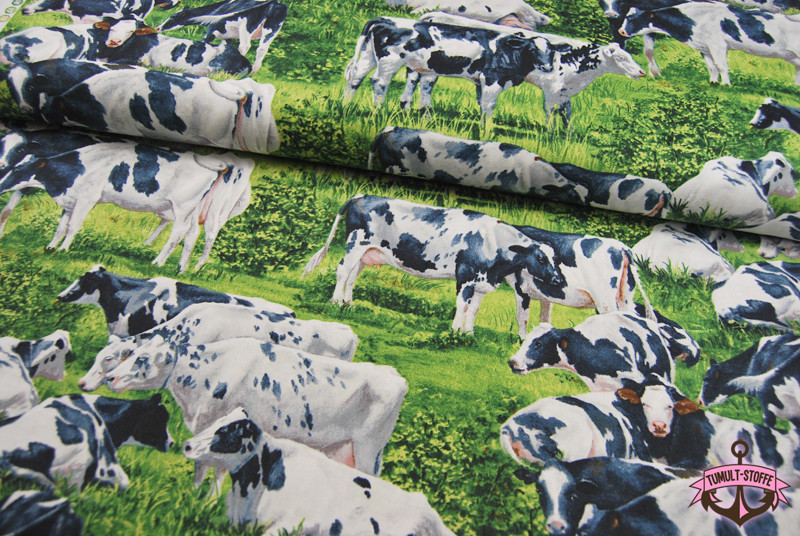 Kuehe - Baumwolle von David Textiles 0 5 m