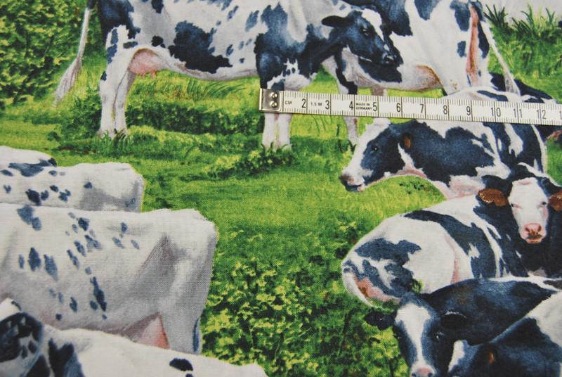 Kühe - Baumwolle von David Textiles