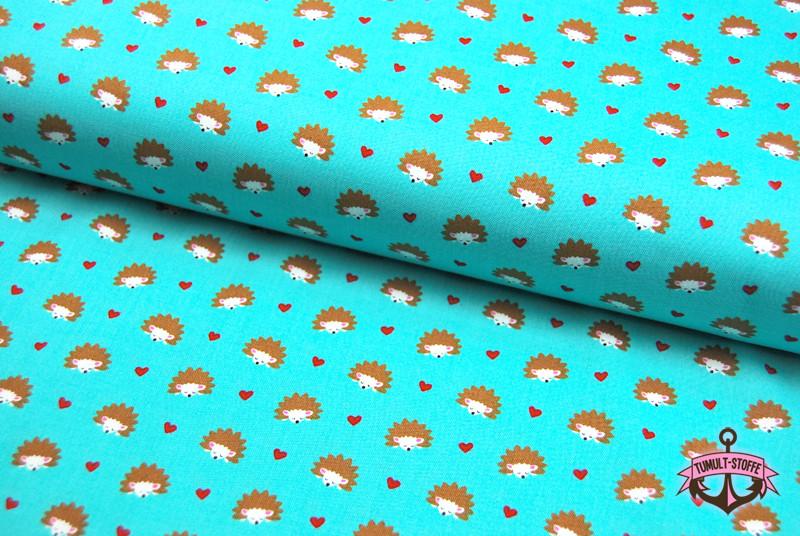 Hedgehog Heaven Baumwolle mit Igel 05m