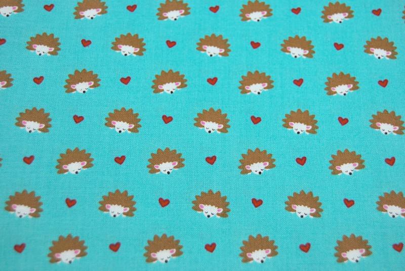 Hedgehog Heaven - Baumwolle mit Igel 0,5m - 2