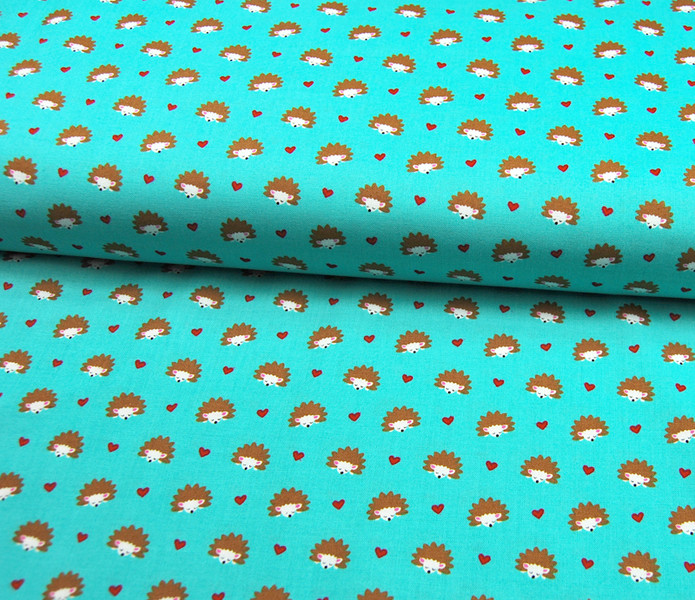 Hedgehog Heaven - Baumwolle mit Igel 0 5m