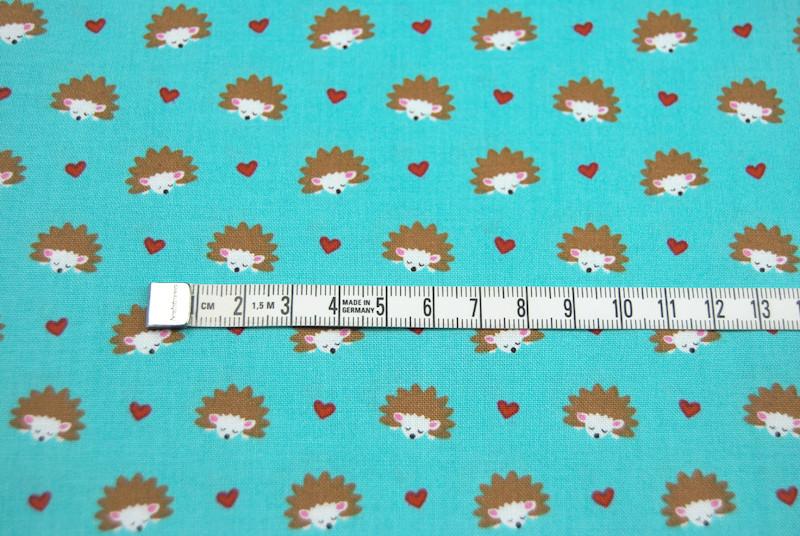 Hedgehog Heaven - Baumwolle mit Igel 0,5m - 4