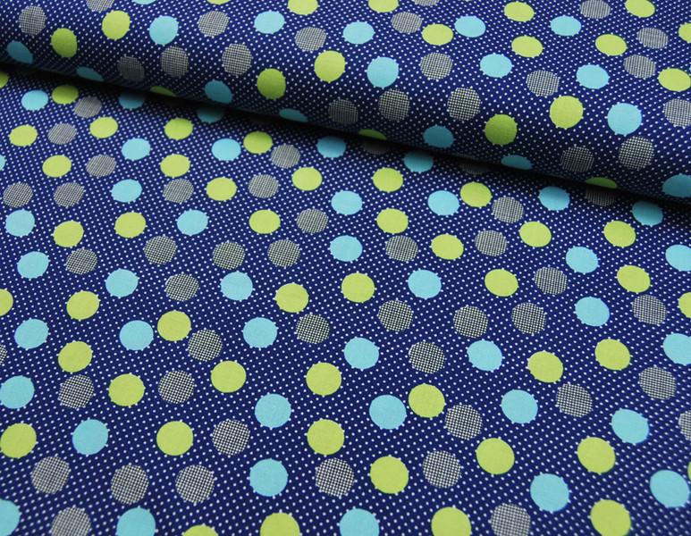 Irome - Punkte Baumwolle von KOKKA 0,5 m - 4