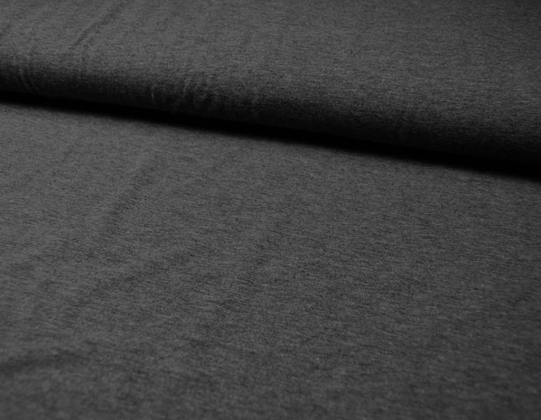 JERSEY - UNI Dunkelgrau Meliert - 0 5 Meter