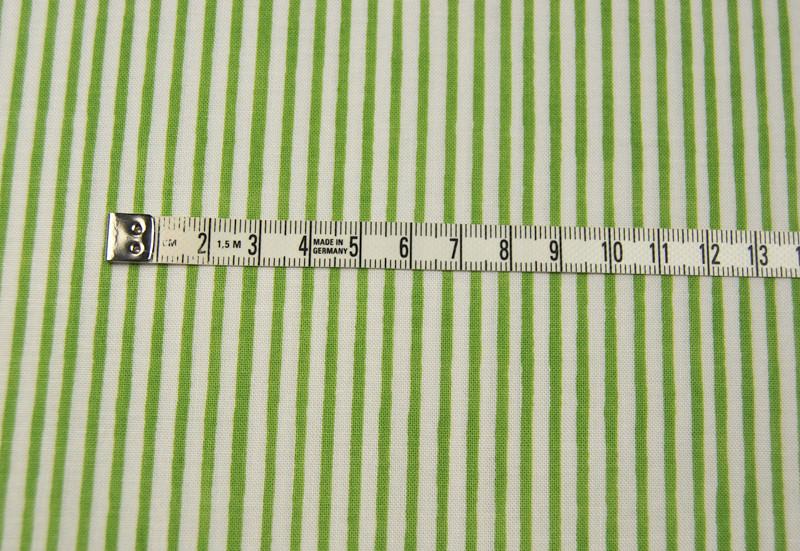 Lazy Stripes - Gruene Streifen Baumwolle 0 5 m