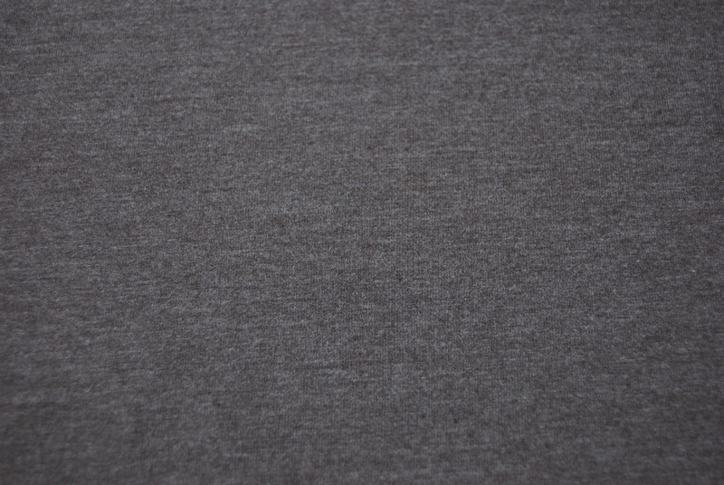 JERSEY - UNI: Schokobraun Meliert - 0,5 Meter