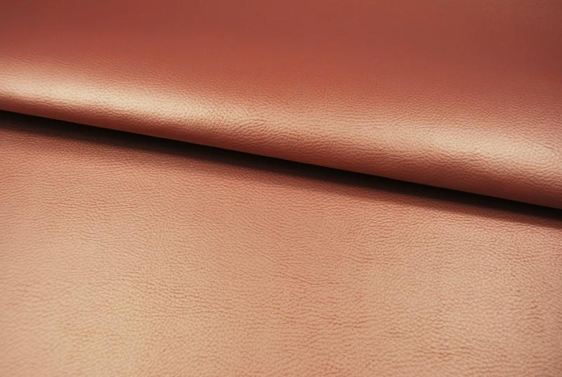 Kunstleder in Kupfer / Terracotta - 0 5 Meter