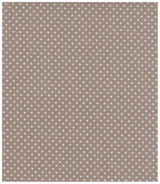Beschichtete Baumwolle - Punkte auf Beige 50x69 cm - 1
