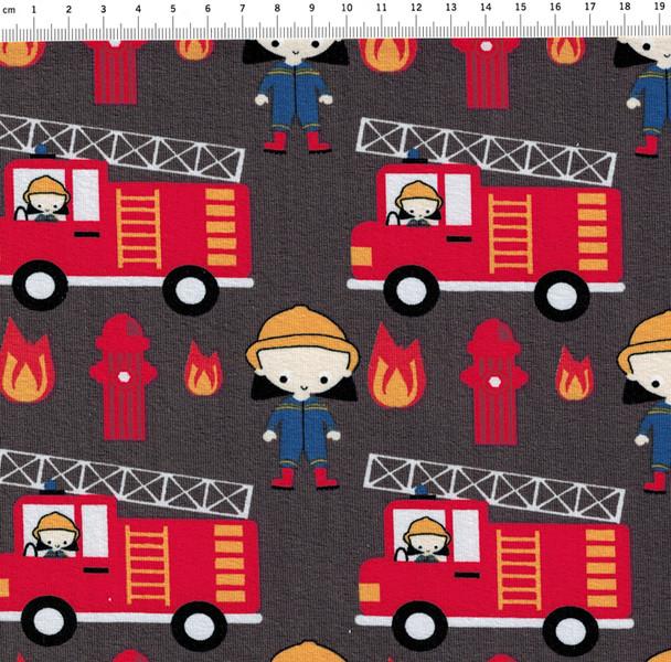 Jersey TaTü Tata Feuerwehr auf Dunkelgrau