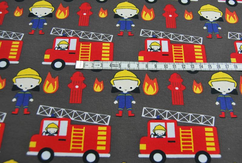Jersey TaTue Tata Feuerwehr auf Dunkelgrau - 0 5m
