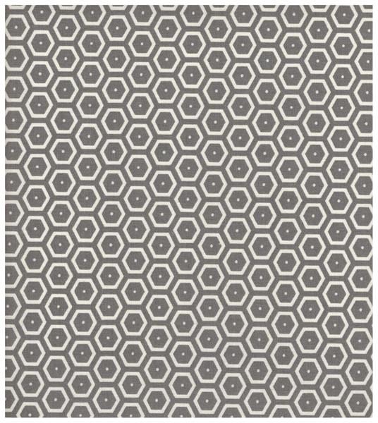 Beschichtete Baumwolle - Hexagon 50 x 74 cm