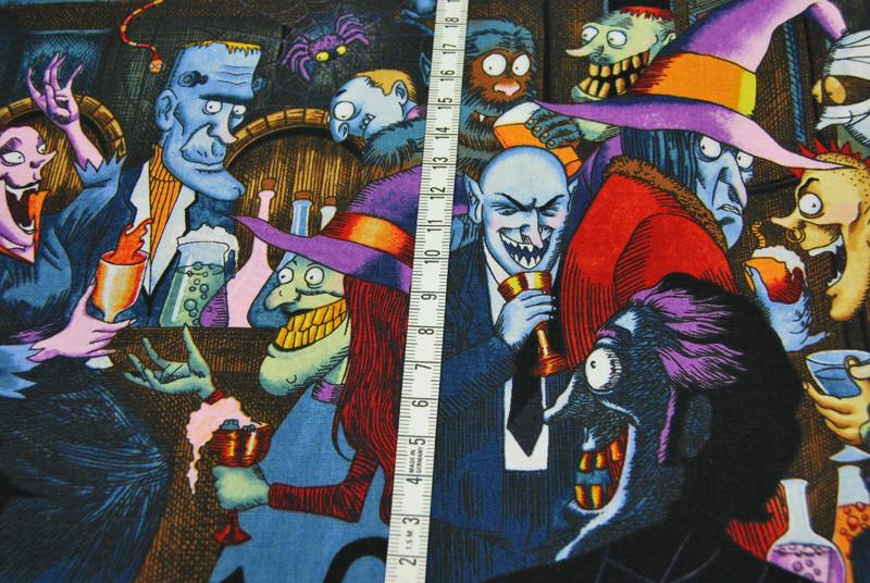 unhappy hour- Baumwolle von Alexander Henry 0,5m - 3