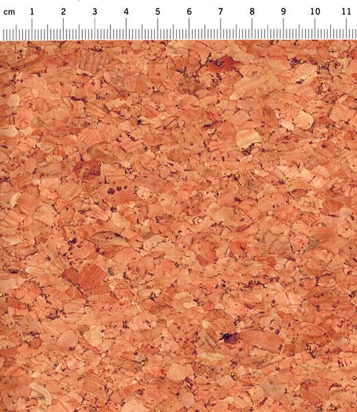 Korkstoff mit Gold Glitzer - Stück � 50 x 60 cm