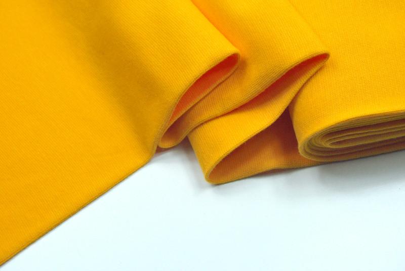 Leichtes Bündchen - Gelb - 50 cm im Schlauch - 1