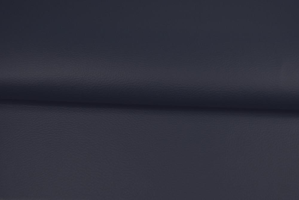 Kunstleder in Nachtblau - 0,5 Meter - 1