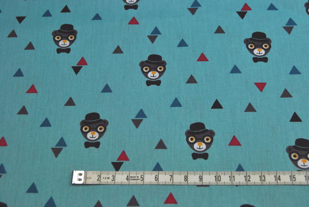 Grizzlybeers - Baumwolle mit Affen 0,5 m - 2